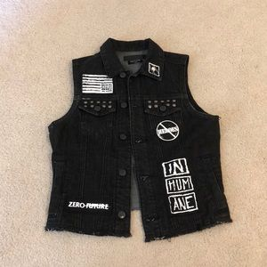 Urban outfitters funky vest